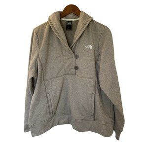 The North Face Ikat Fleece Jacket Size XL Gray